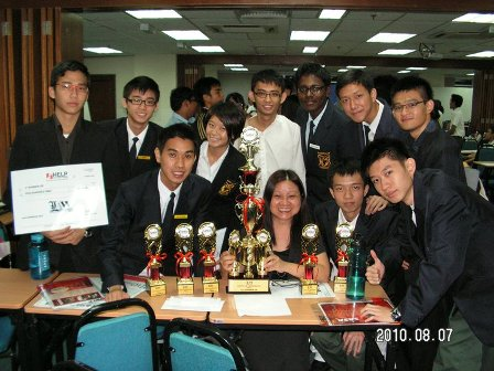 MBS Boys win 2nd Law Apprentice